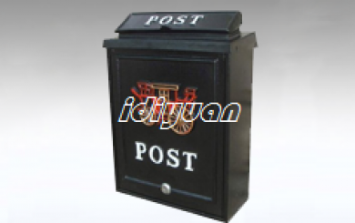 Carriage design casting aluminum post box