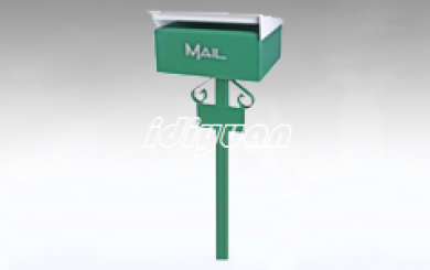 DNB160-free standing letterboxes