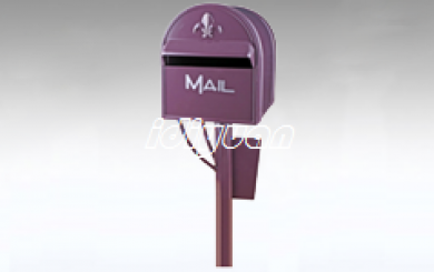 DNB220-Aluminum free standing letterbox
