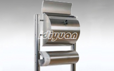 DNB502H-Post mount stainless steel mailbox