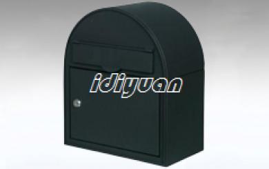 DNB8007-Edinburgh Black Letterbox