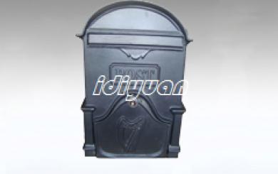 Moy Cast Aluminium Letterbox